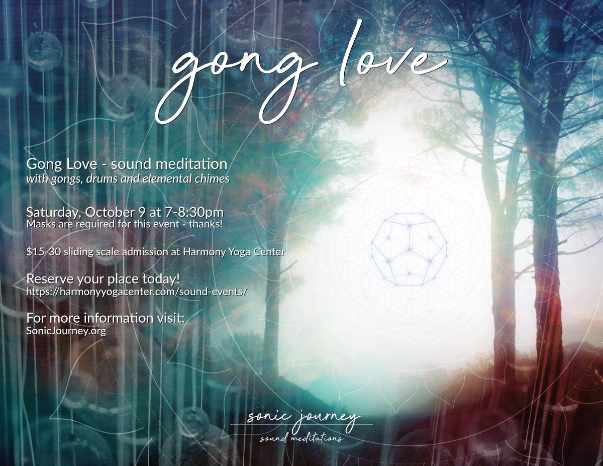Gong Love at Harmony Yoga